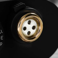 Camera release button in solid 585 gold and 925 sterling silver | Rock n Roll