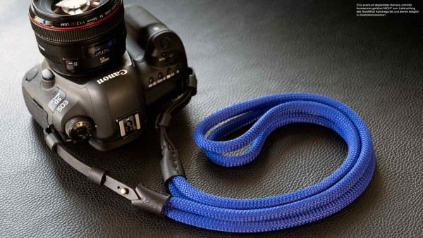 Camera carrying strap for SLR and system cameras | Poly Silk | Rock N Roll