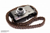 Leather carrying strap for cameras from Rock n Roll Camera Straps | Slim Design | Gr.L
