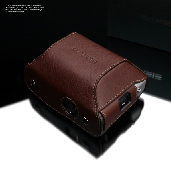 Leather protective case for Fuji X100V | Gariz case HG-CHX100VBR is required