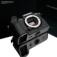 Camera case for Fujifilm X-S10 by Gariz Design | black leather from Italy