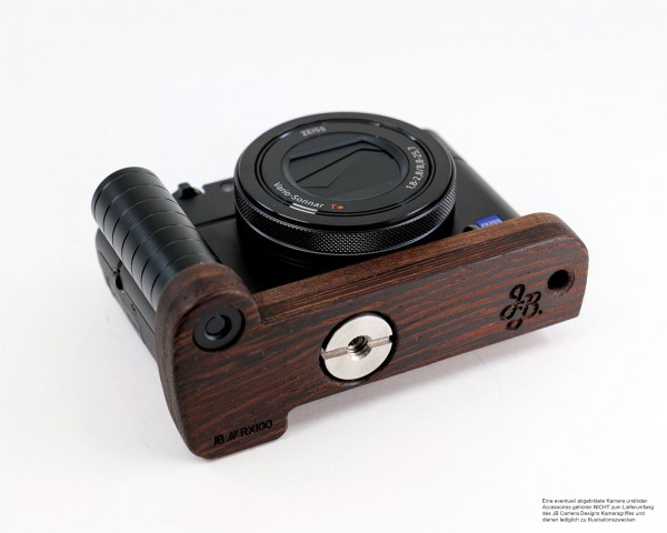 Wooden handle for Sony RX100 I II III IV V VI VII from JB Camera Designs USA