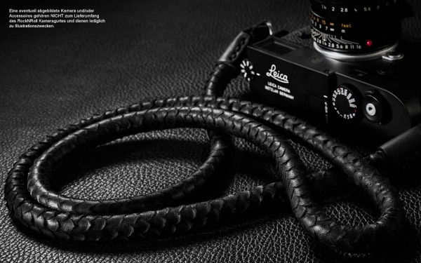 Camera shoulder strap | nappa leather in snake leather look | Rock n Roll |125cm