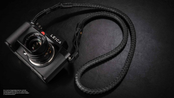 Design camera strap for Leica SL2 SL S made of nappa leather | Rock n Roll Straps | 100cm