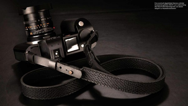 Camera strap for Leica SL SL2 S | Reptile leather embossing | Rock N Roll | 125cm